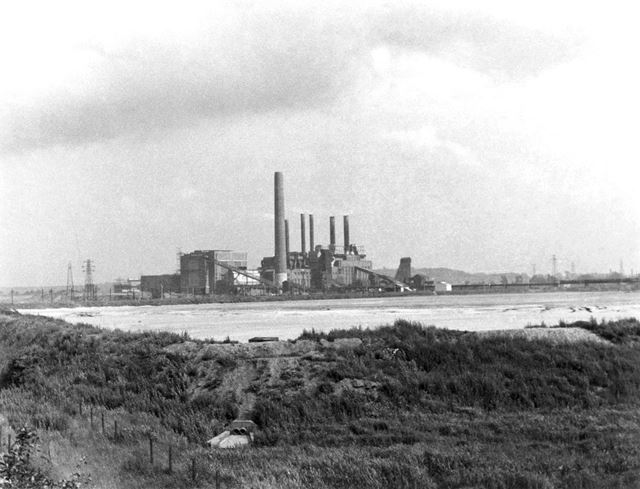 North Wilford Power Station, Colliery Road, Wilford, Nottingham, c 1950