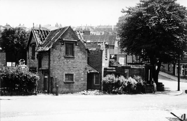 Police Station, at the junction of St Ann's Well Road and Ransom Road, St Ann's, Nottingham, 1964