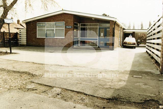 Police Station, Wollaton Road, Wollaton, Nottingham, c 1987