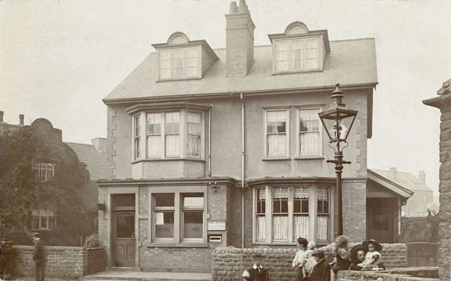Post Office, Robinsons Hill, Bulwell, Nottingham, 1907