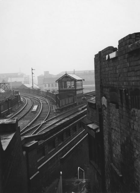 GNR Viaduct, Weekday Cross, Lace Market, Nottingham, c 1970
