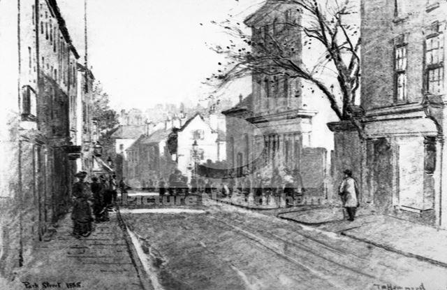 Park Road, Lenton, Nottingham, 1885