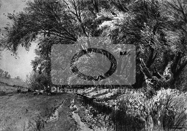 The Day Brook, Basford, Nottingham, c 1910