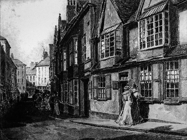 High Pavement, Lace Market, Nottingham, 1895