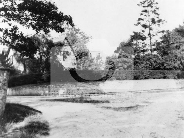 House on Launder Street, Orston, c 1900