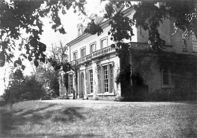Orston Hall, off High Street, Orston, 1920
