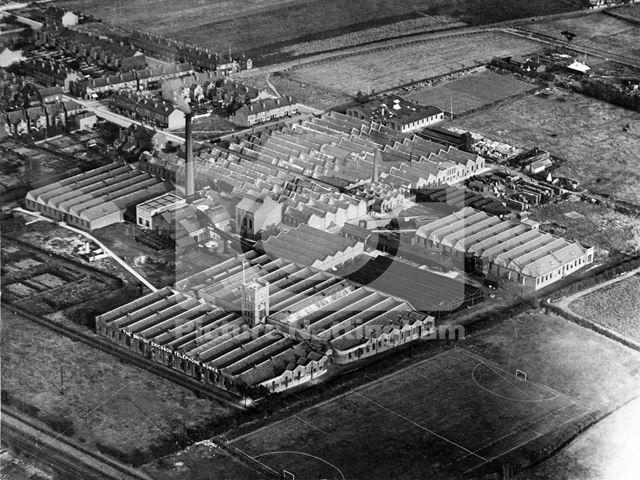 The British Ericsson Telephone Works, off Nelson Road, Beeston, 1930s?