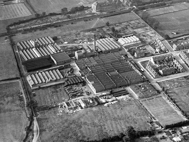 The British Ericsson Telephone Works, off Nelson Road, Beeston, 1930s?