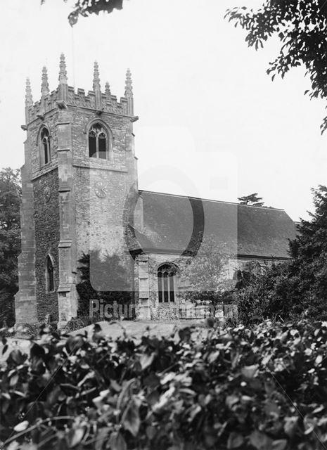 The Parish Church of St Michael, Averham, 1949