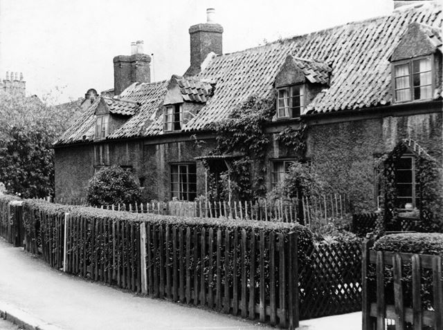 Old Cottages, Nether Street, Beeston, 1956