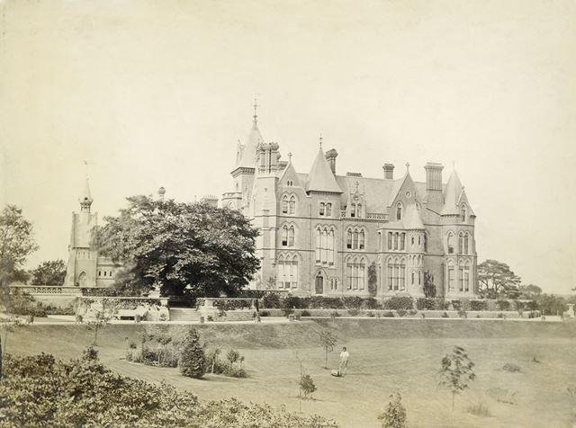 South Aspect of Bestwood Lodge, Bestwood, Nottingham, c 1890s