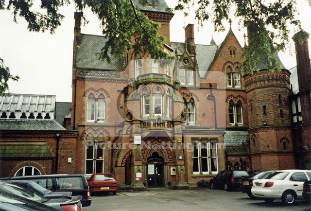 Main Entrance, Bestwood Lodge, Bestwood, Nottingham, 1999