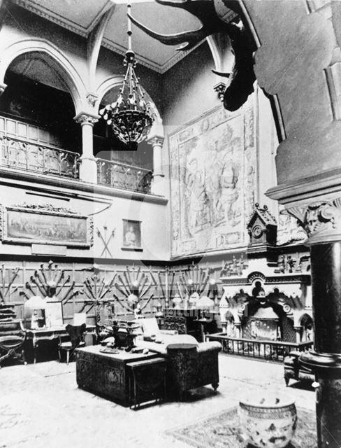 Bestwood Lodge Interior, Bestwood Park, Nottingham, c 1940