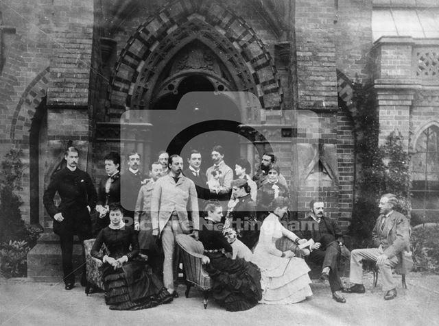 Duke of Albany and Duke of St. Albans Visit Bestwood Lodge, 1881