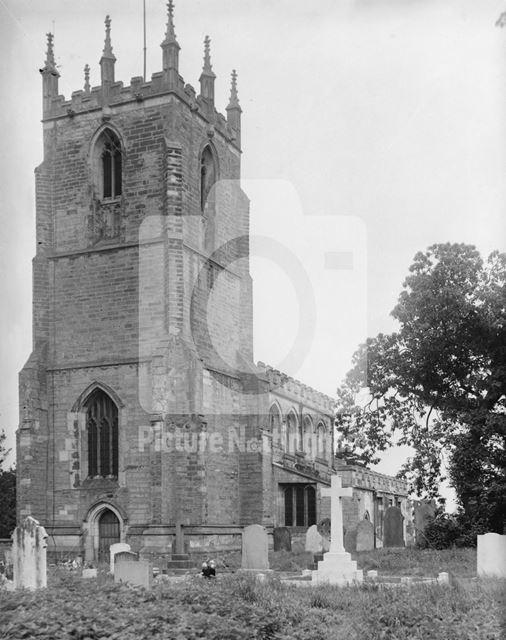 St Peter's Church, Church Lane, Gamston near Retford, 1949