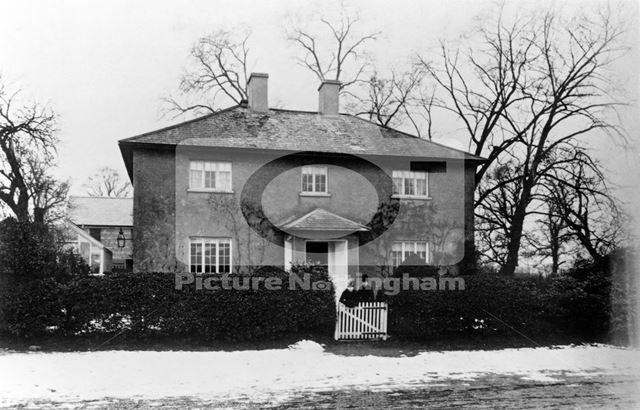 Miss Clark's house, Gamston, c 1900