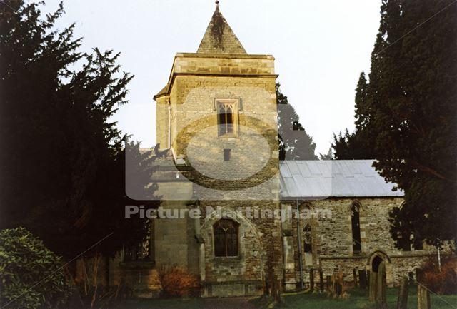 St Augustine's Church, off Inholms Road, Flintham, c 1980s?