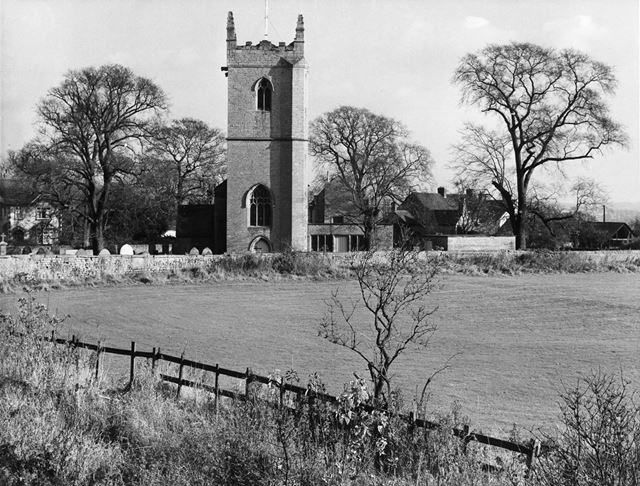 South Aspect, St Michael's Church, Linby, 1966