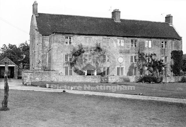 Hall Farm House, off Main Street, Linby, c 1950