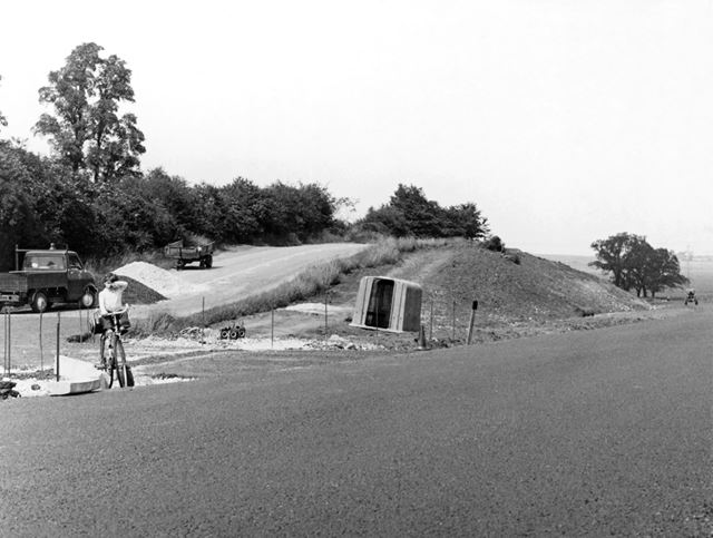 Bypass at Cheese Hill, Nottngham Road, Gotham, 1972