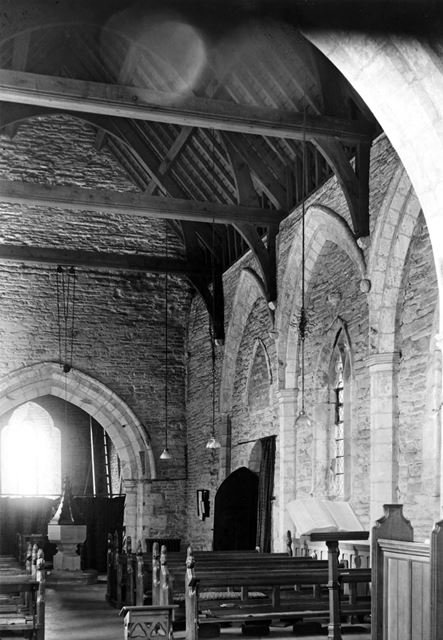 All Saint's Parish Church, Sutton Lane, Granby, c 1950?
