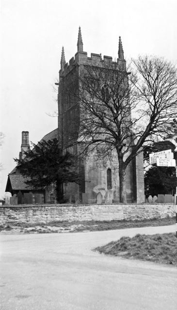 All Saint's Parish Church, Sutton Lane, Granby, 1958