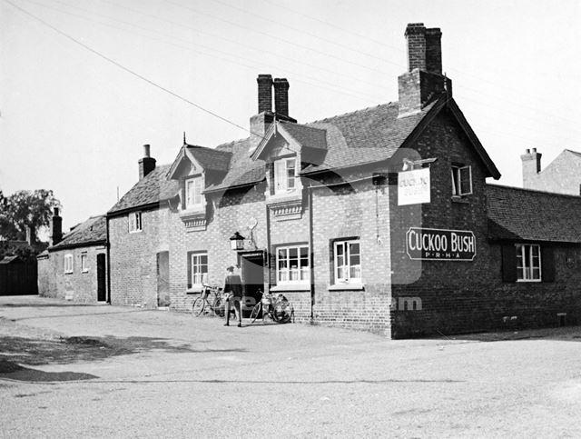 Cuckoo Bush Inn, Leake Road, Gotham, c 1930