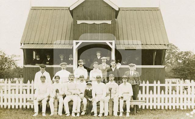 Gunthorpe Cricket Team, 1910