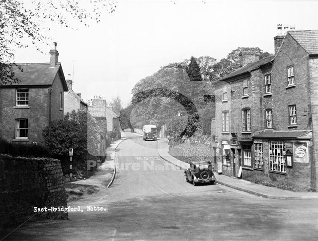 Kneeton Road, East Bridgford, c 1940s?