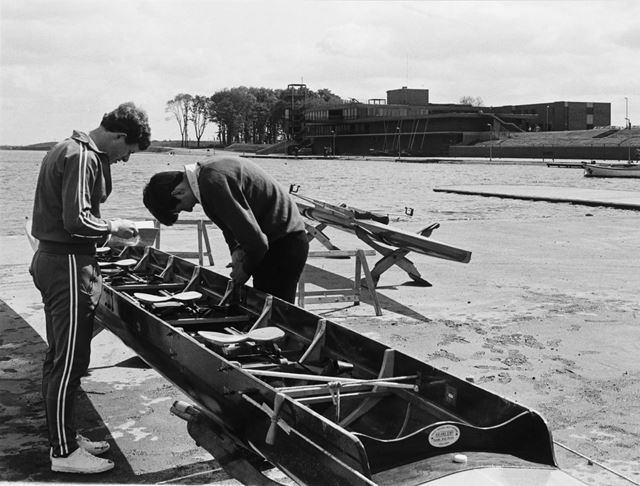 National Water Sports Centre, Adbolton Lane, Holme Pierrepont, 1975