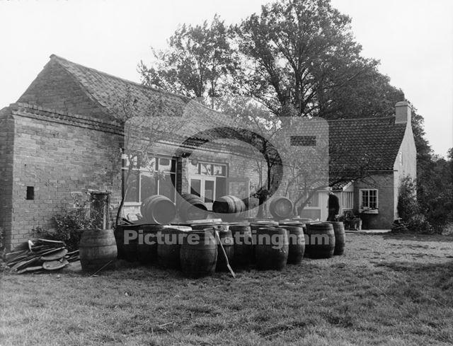 Cooper's Workshop, Gonalston Lane, Hoveringham, 1961