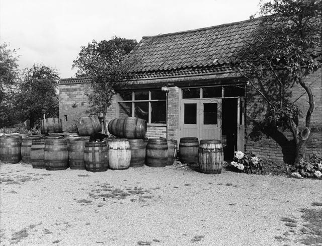 Cooper's Workshop, Gonalston Lane, Hoveringham, 1961
