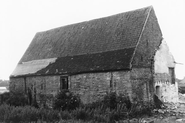 17th century Barn (south & west sides), Aspley Hall, off Aspley Lane, Aspley, 1968
