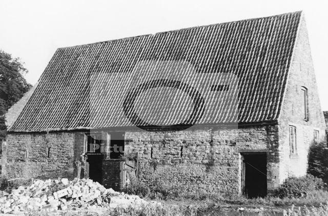 17th century Barn (north & east sides), Aspley Hall, off Aspley Lane, Aspley, 1968