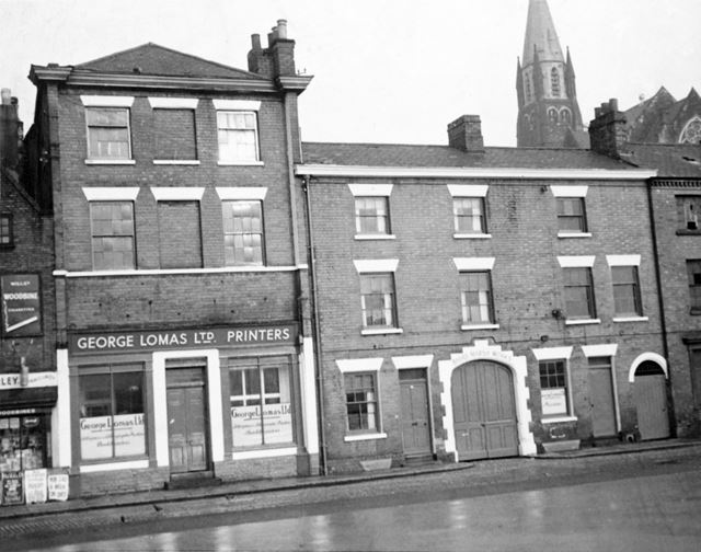 George Lomas Ltd, Printers Works and Office, Broad Marsh, Nottingham, c 1960