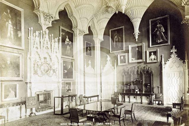 Gothic Hall, Welbeck Abbey, Welbeck, c 1880s?