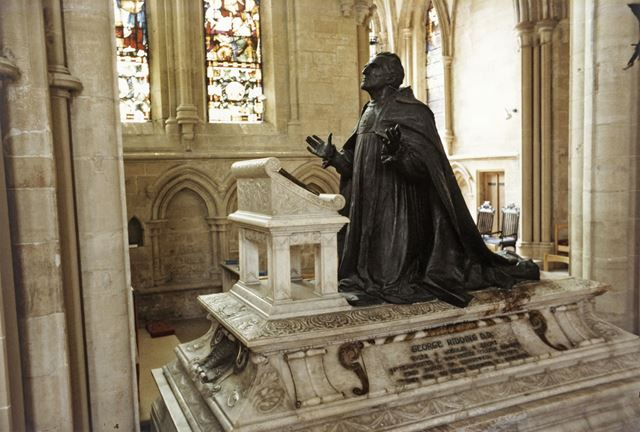 Bishop George Riddings' Tomb, Southwell Minster, c 1980s