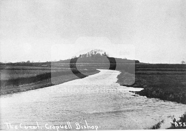 Grantham Canal, Cropwell Bishop, c 1930