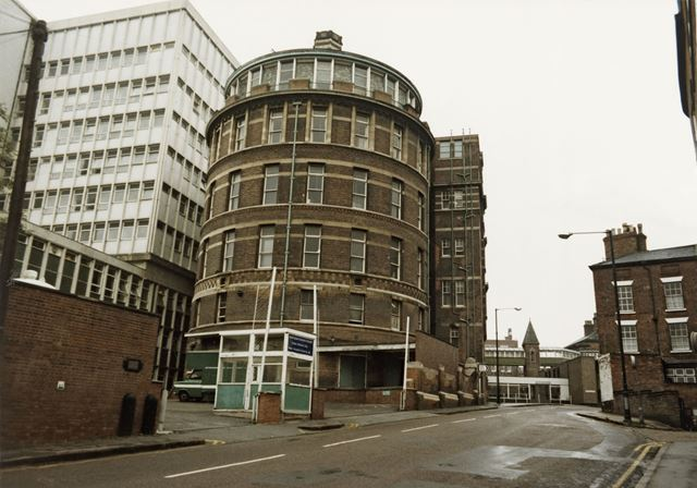 General Hospital, The Rotunda, Postern Street, Nottingham, 1984