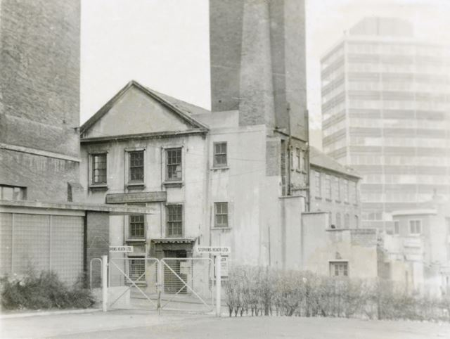 Hargreaves' Factory, Woolpack Lane, Lace Market, Nottingham, 1970