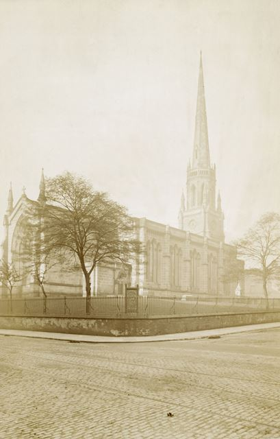Holy Trinity Church, Trinity Square, Nottingham, before 1900
