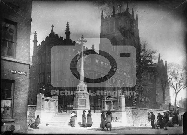 St Mary's Church, High Pavement, Lace Market, Nottingham, 1922