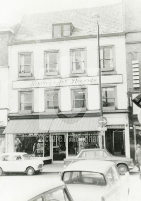 Clumber Street, Nottingham, 1971