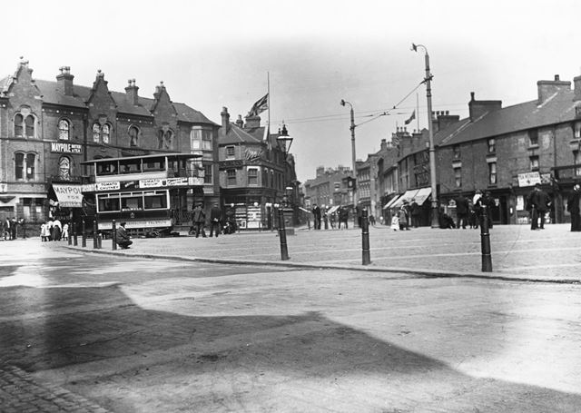 Market Place, Bulwell, c 1910