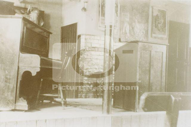 Interior of Scotholme Methodist Mission, Hyson Green, Nottingham, 1935
