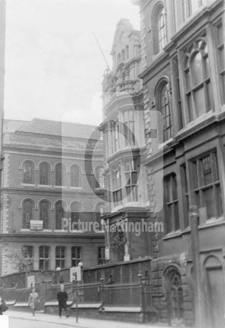 Stoney Street, Lace Market, Nottingham, c 1969