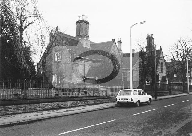 Bramcote Lane?, Wollaton, Nottingham, c 1970s