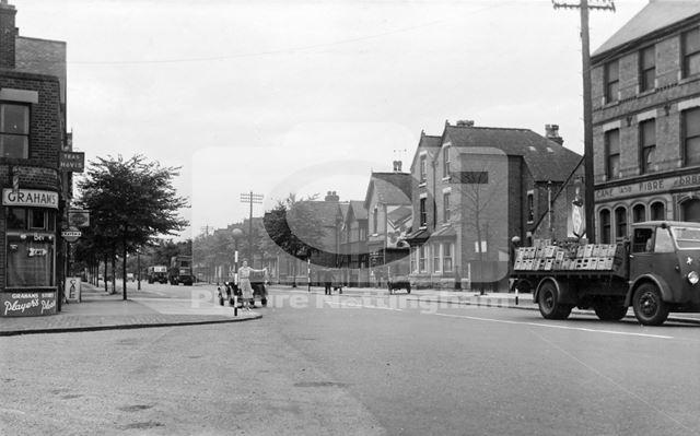 Beeston Road, Dunkirk, Nottingham, c 1950s