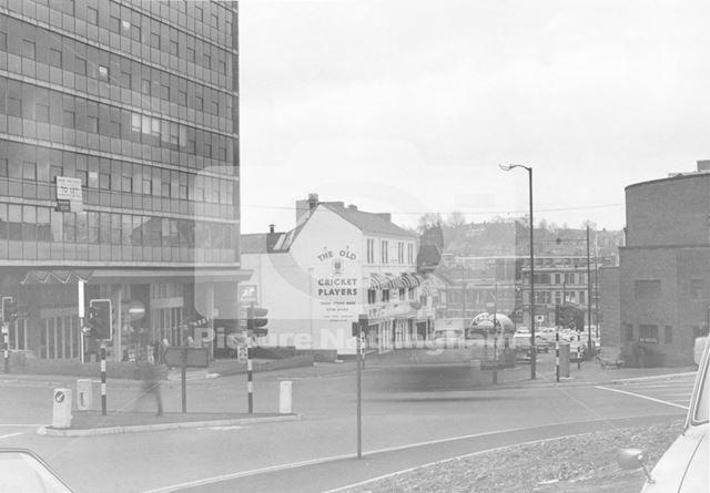 Barker Gate, Lace Market, Nottingham, c 1980s ?