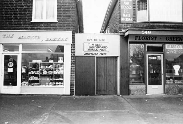 Major's Bakery and Meakin's Store, Aspley Lane, Aspley, Nottingham, c 1970s